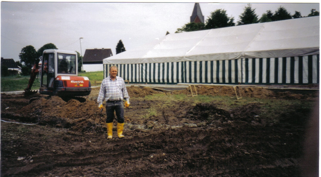 Neubau des Vereinsheimes - 004