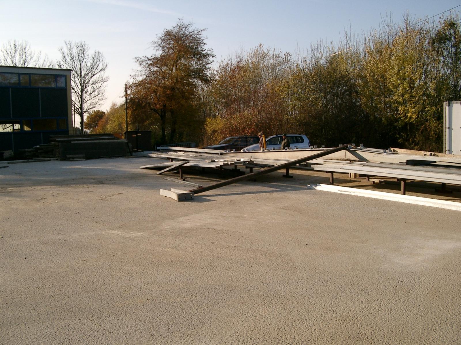 Neubau des Vereinsheimes - 014