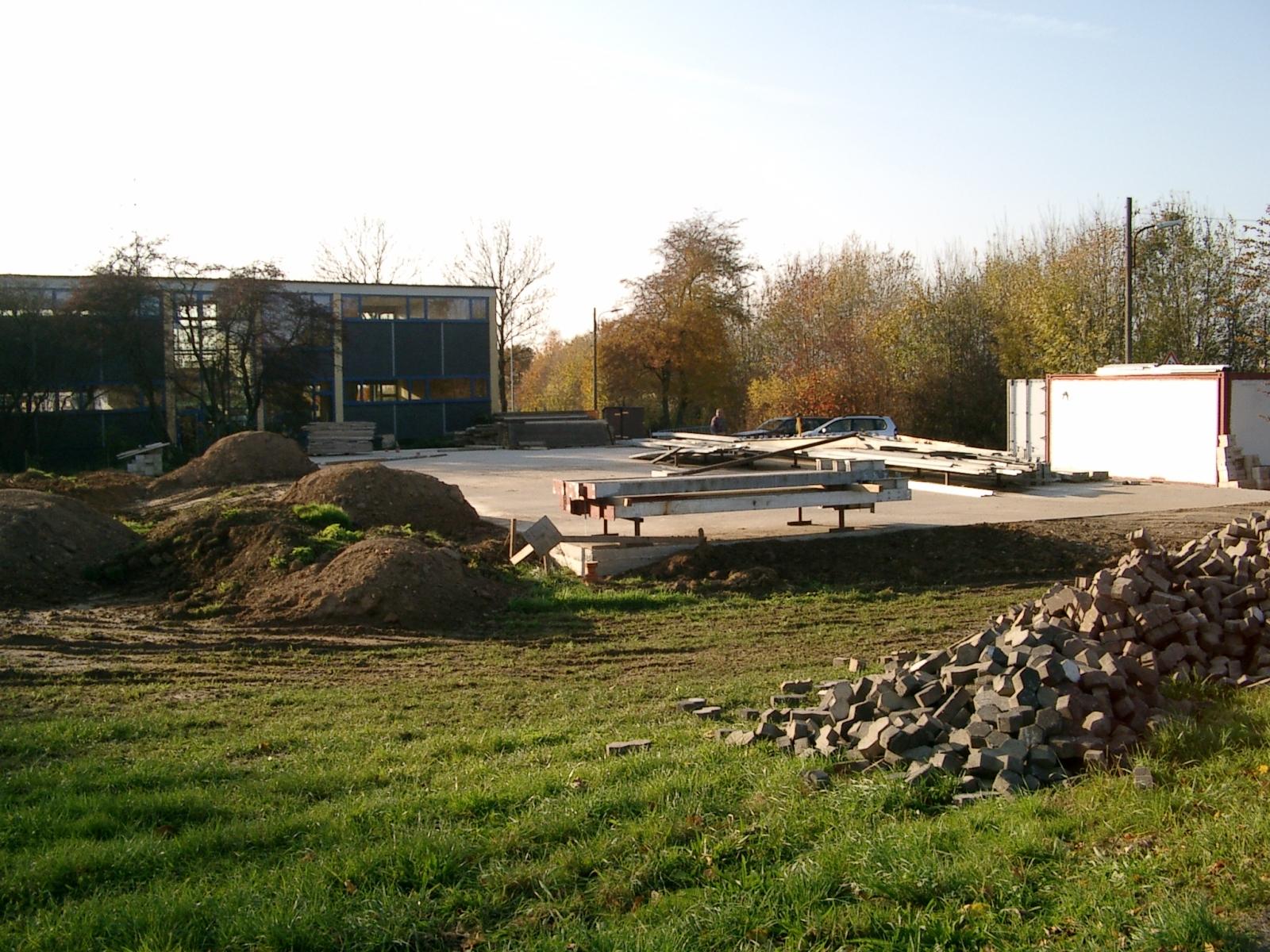 Neubau des Vereinsheimes - 015