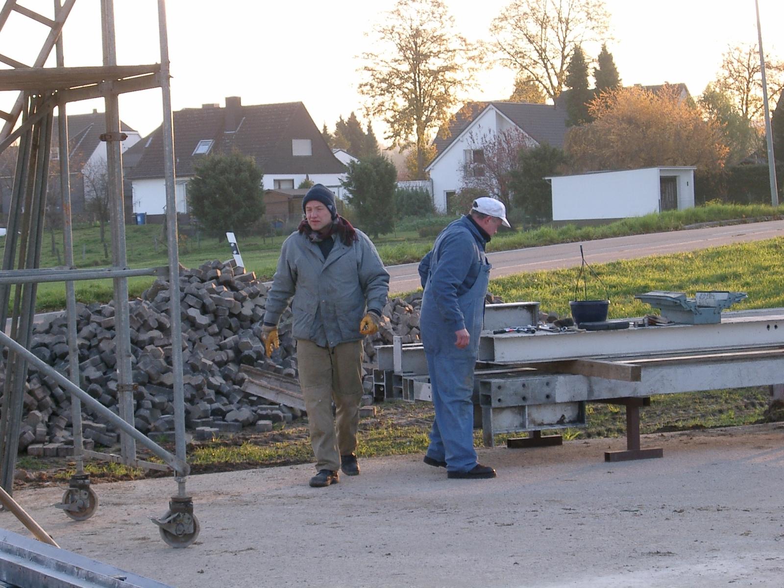 Neubau des Vereinsheimes - 018