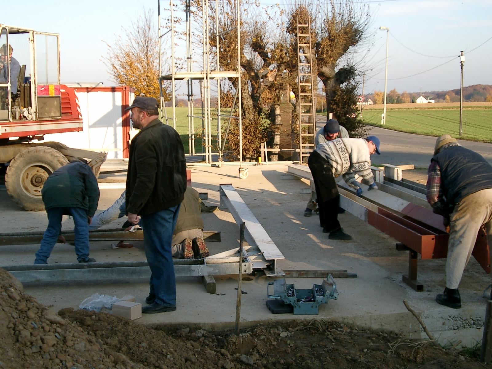 Neubau des Vereinsheimes - 022