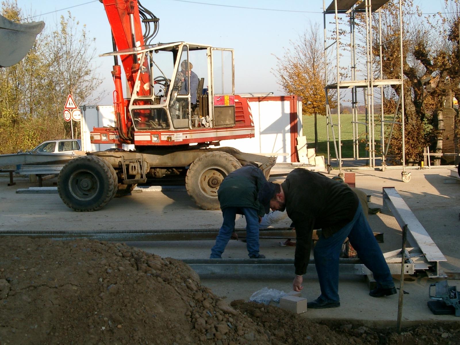 Neubau des Vereinsheimes - 023