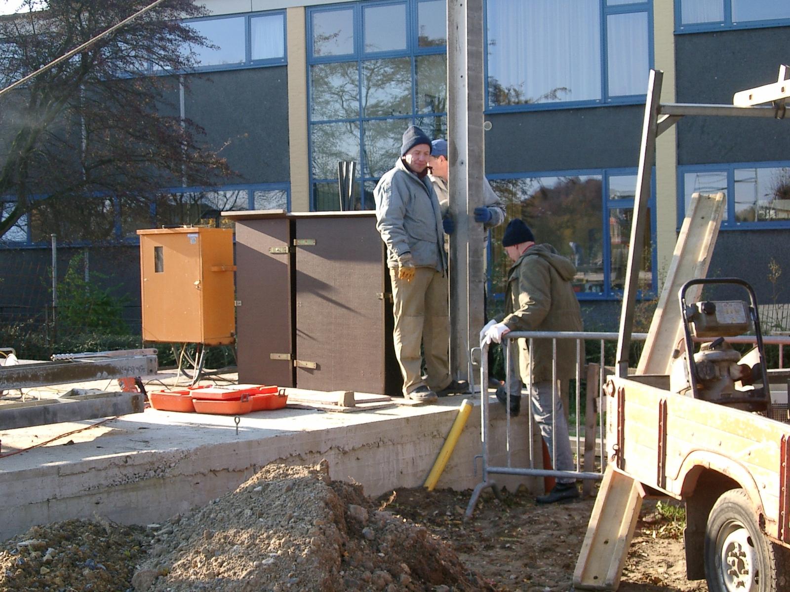 Neubau des Vereinsheimes - 033