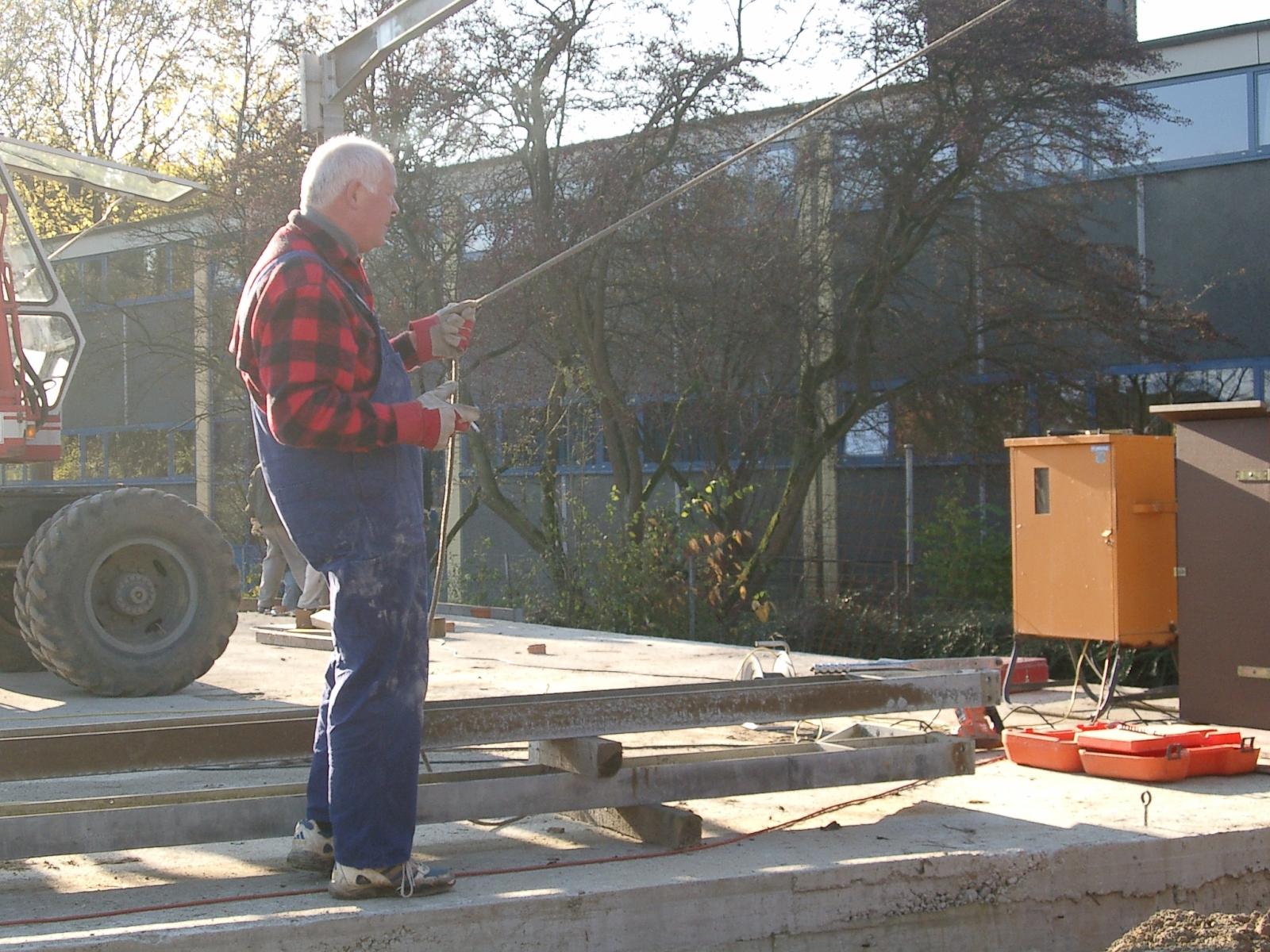 Neubau des Vereinsheimes - 034