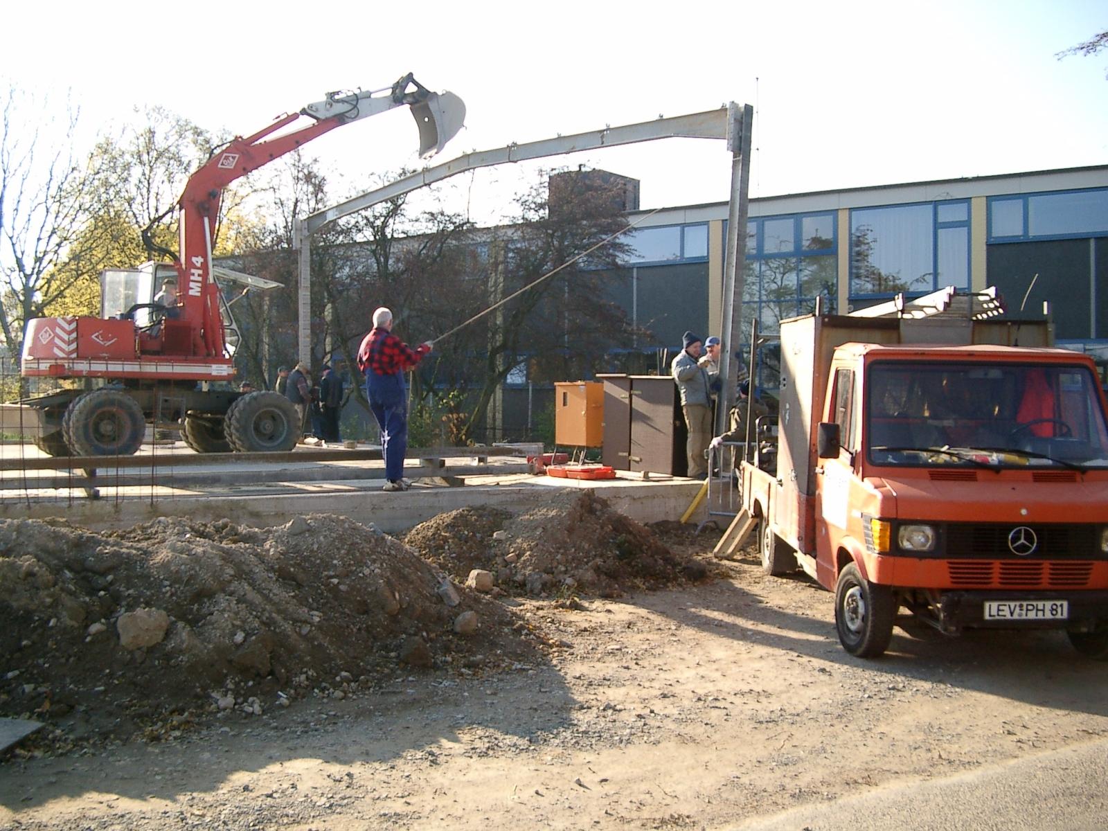 Neubau des Vereinsheimes - 035