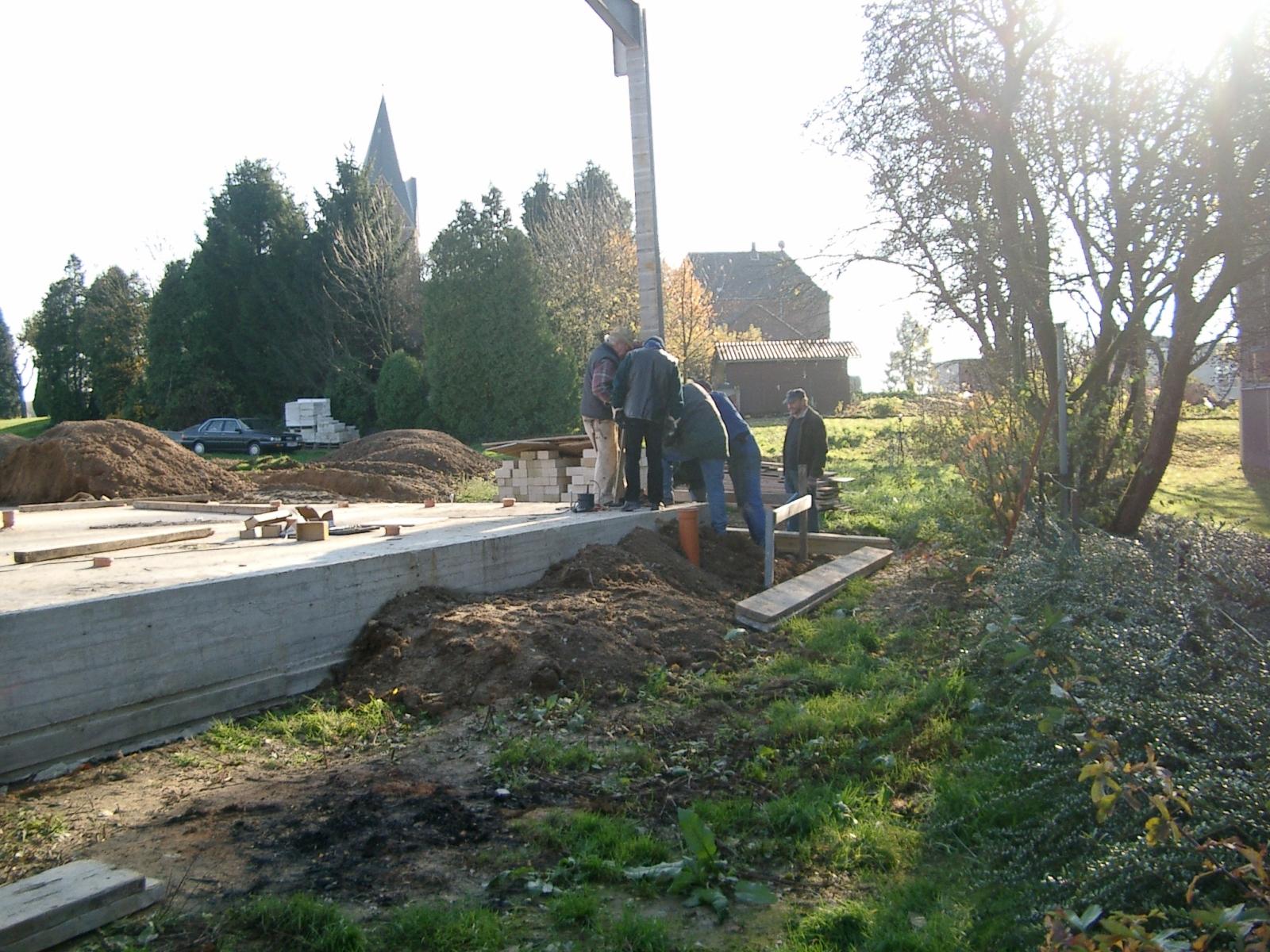 Neubau des Vereinsheimes - 036