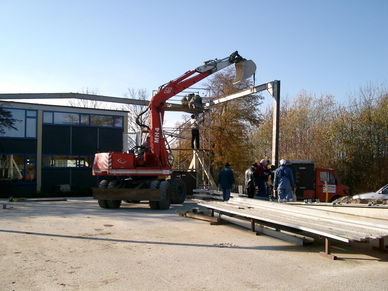 Neubau des Vereinsheimes - 057