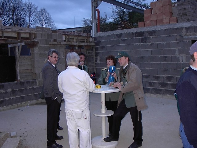 Neubau des Vereinsheimes - 151