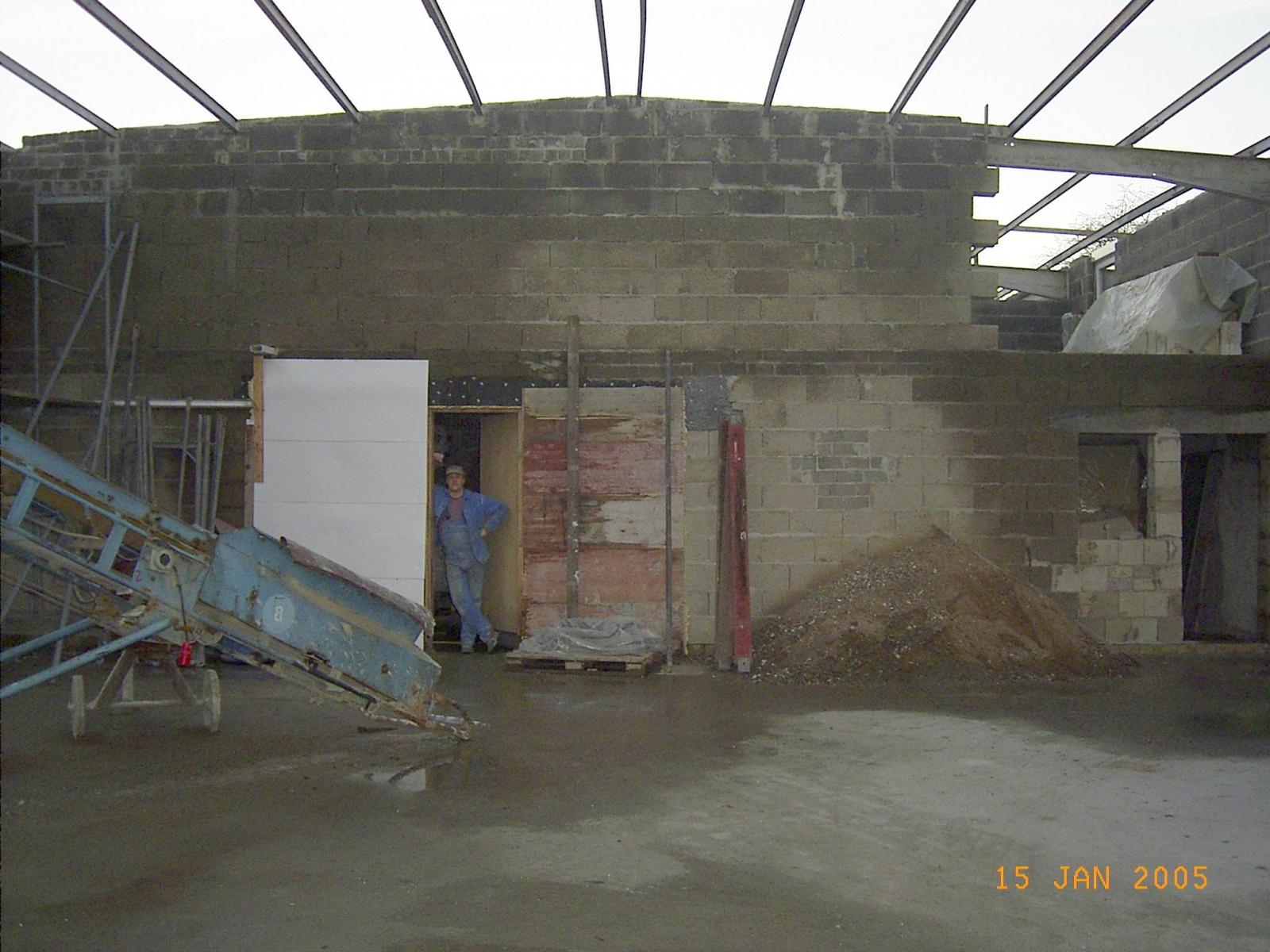 Neubau des Vereinsheimes - 166