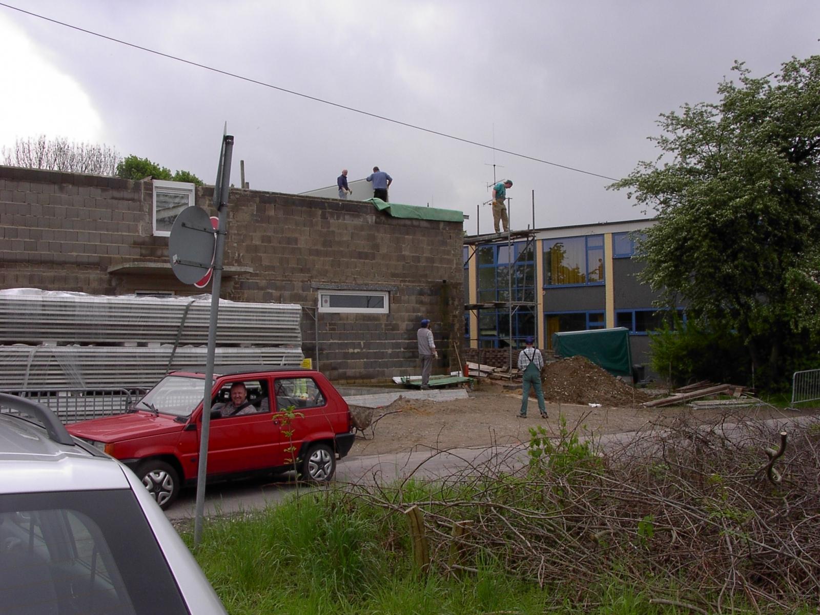 Neubau des Vereinsheimes - 208
