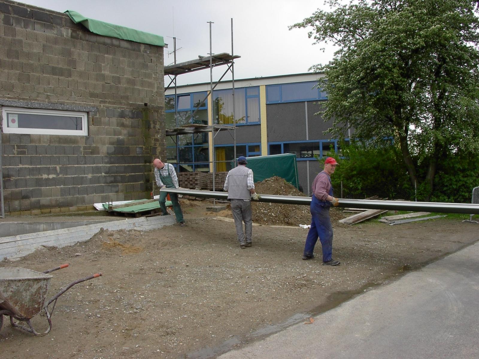Neubau des Vereinsheimes - 209