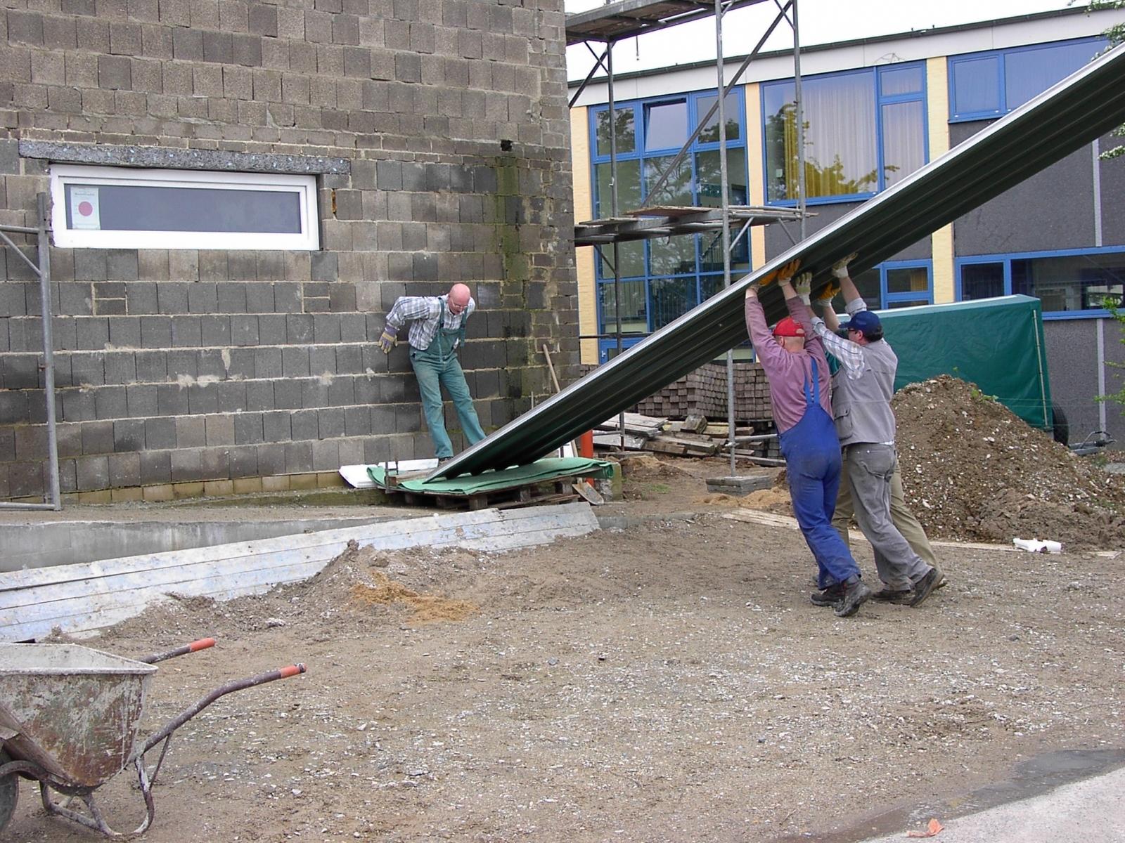 Neubau des Vereinsheimes - 210