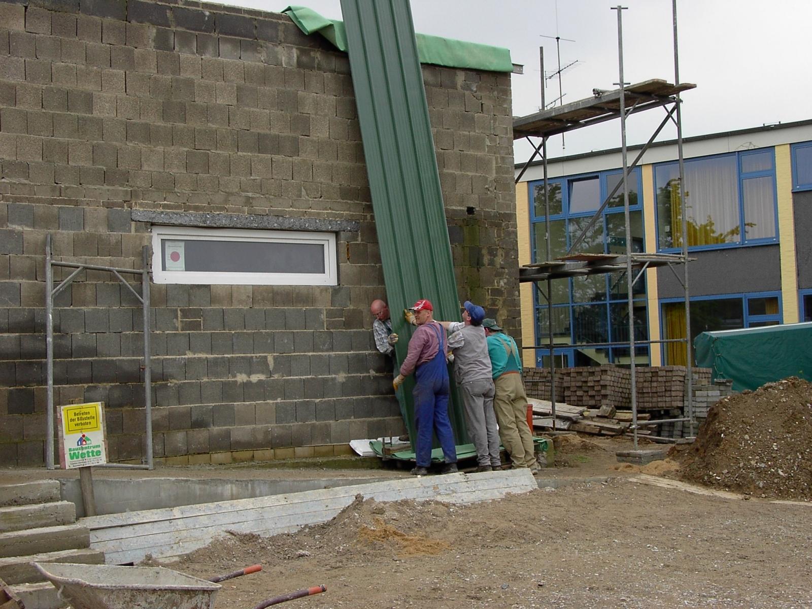 Neubau des Vereinsheimes - 211