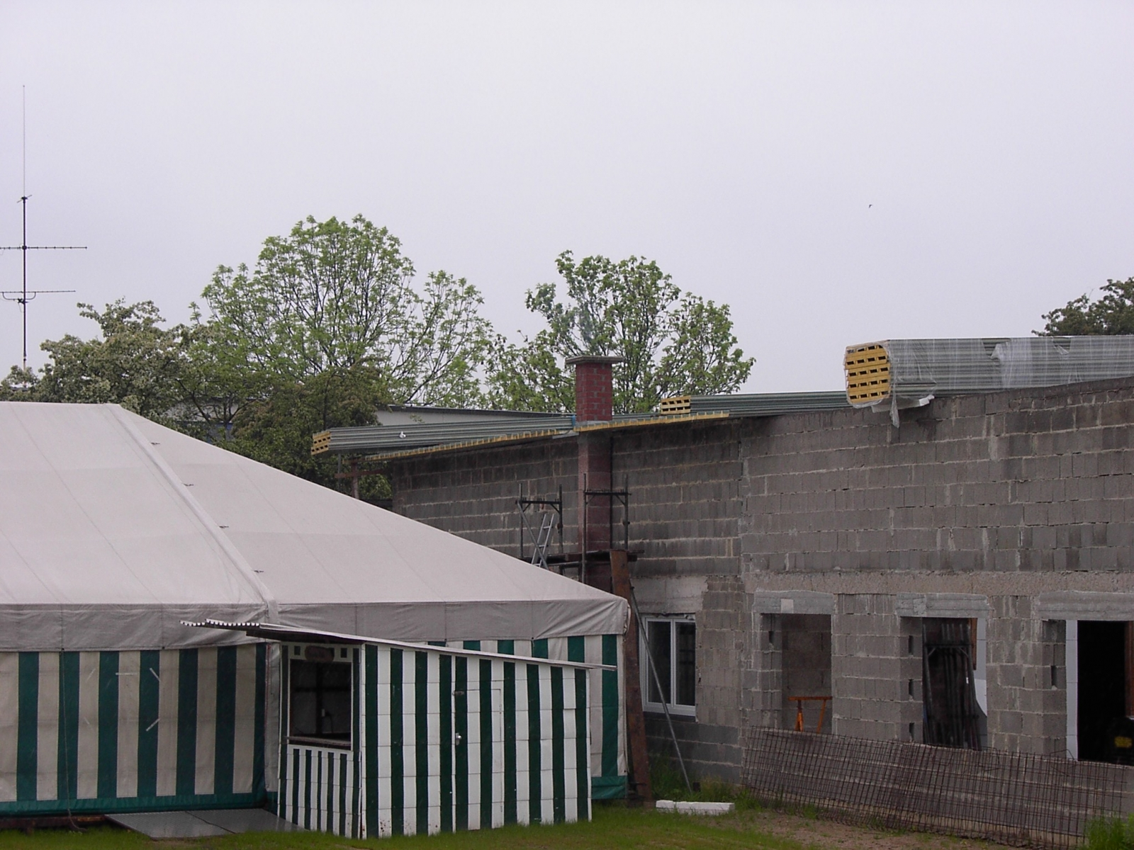 Neubau des Vereinsheimes - 220