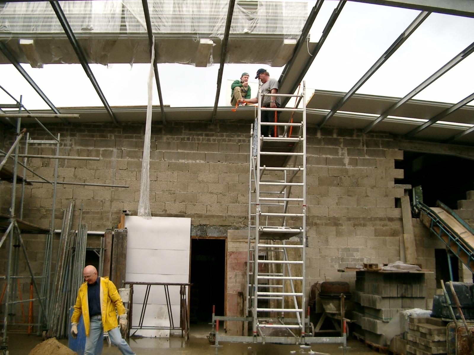 Neubau des Vereinsheimes - 222