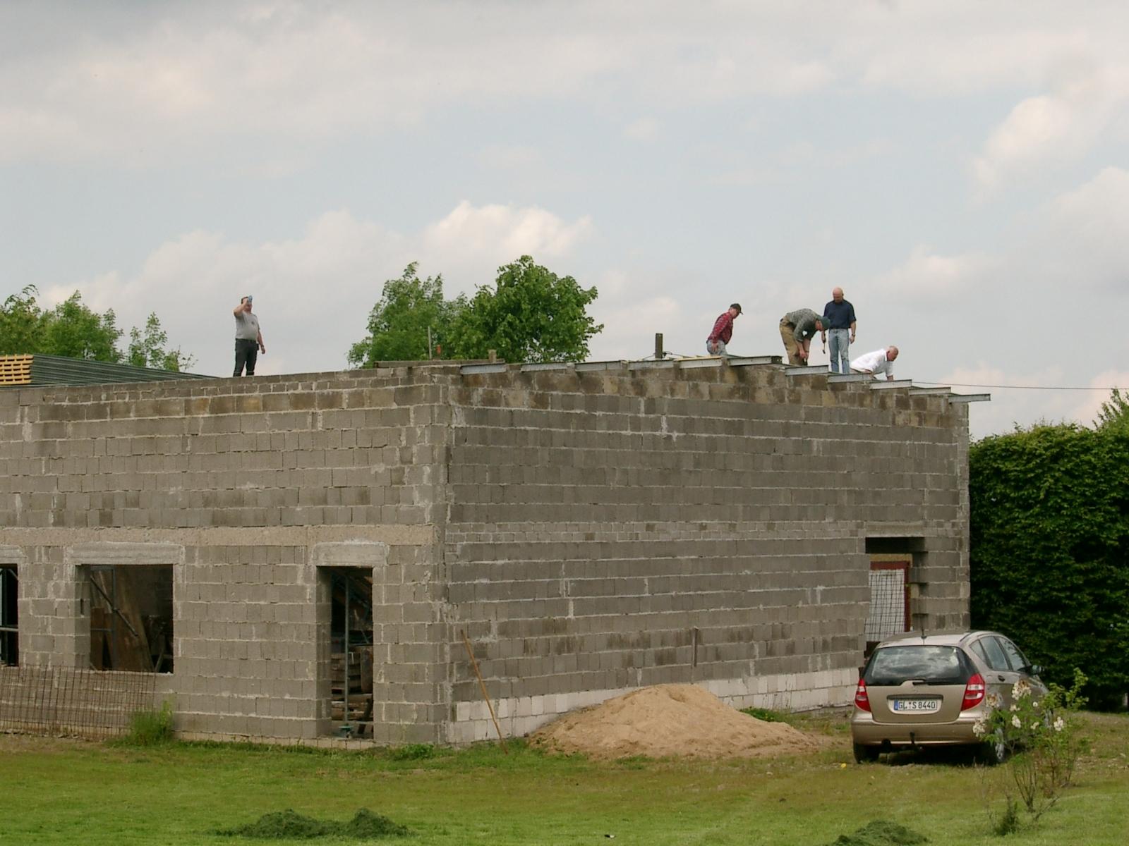 Neubau des Vereinsheimes - 230