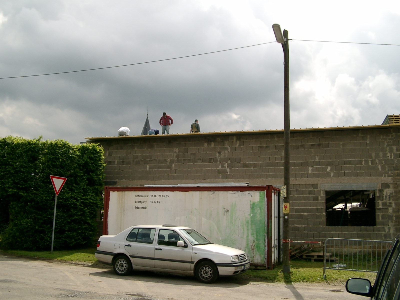 Neubau des Vereinsheimes - 231