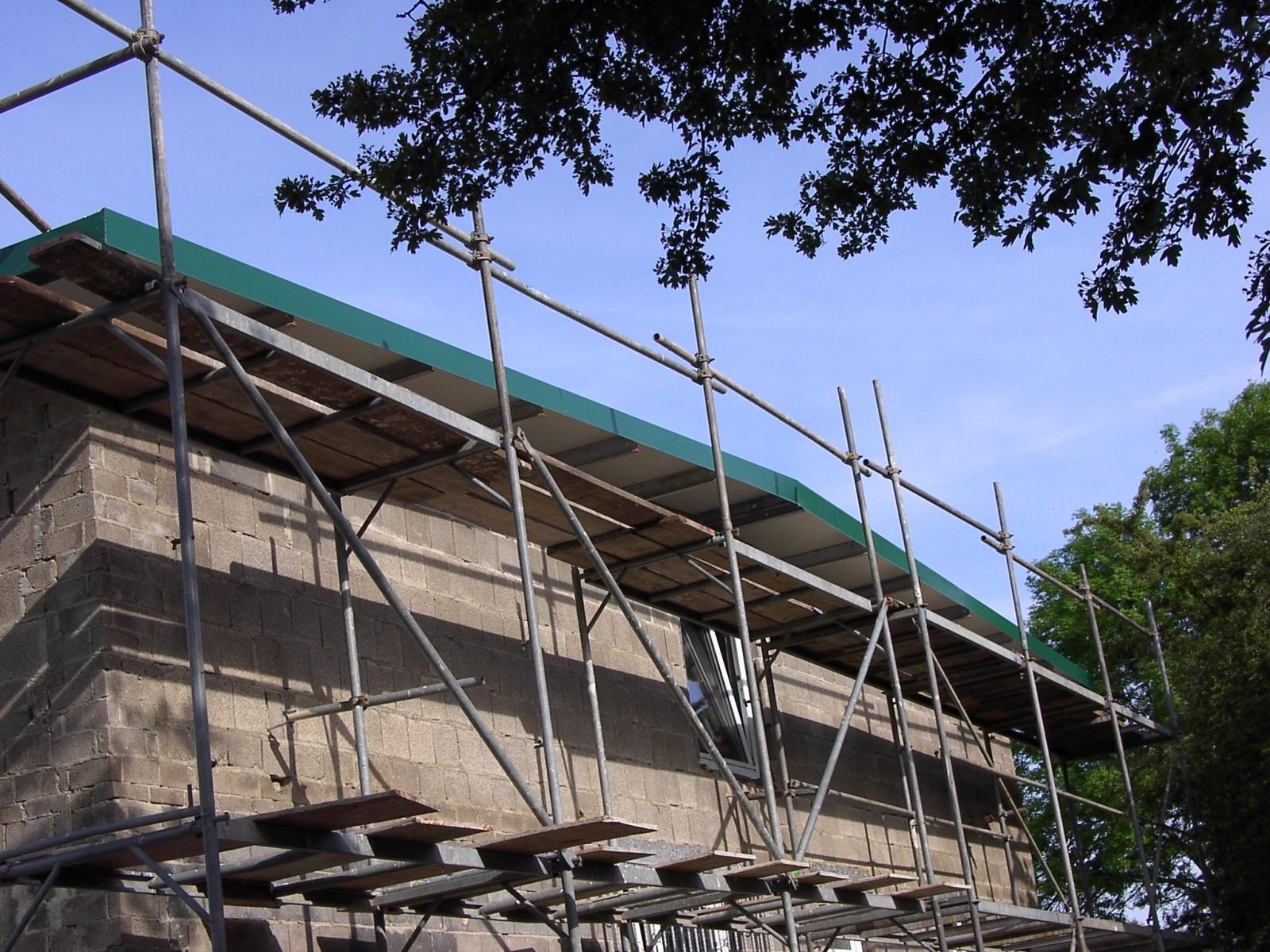 Neubau des Vereinsheimes - 243