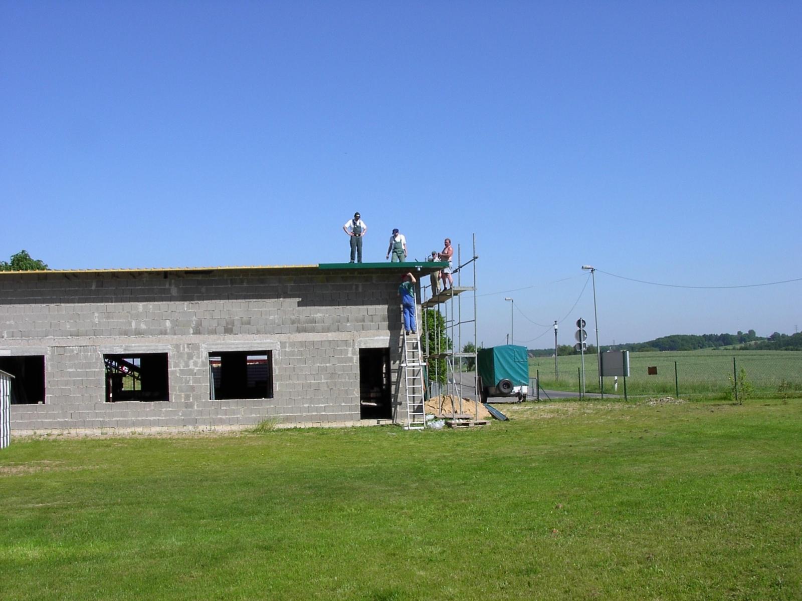 Neubau des Vereinsheimes - 244
