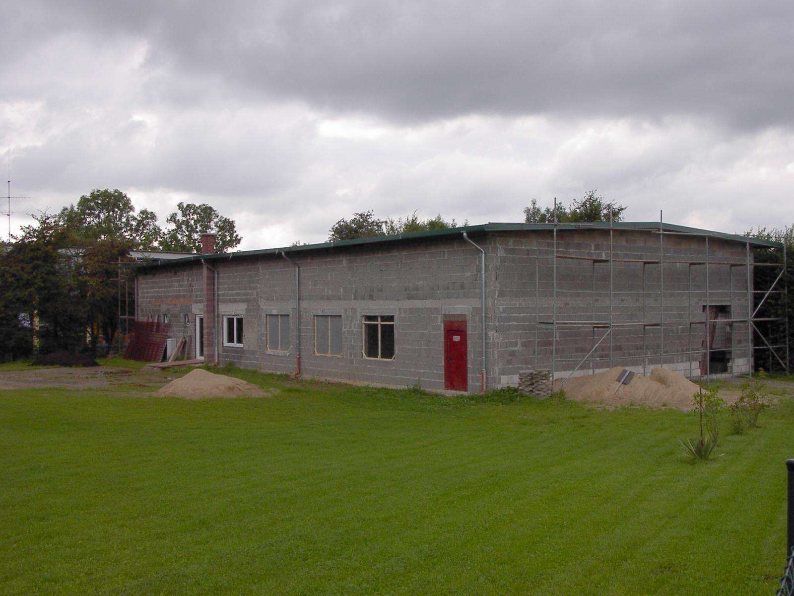 Neubau des Vereinsheimes - 248