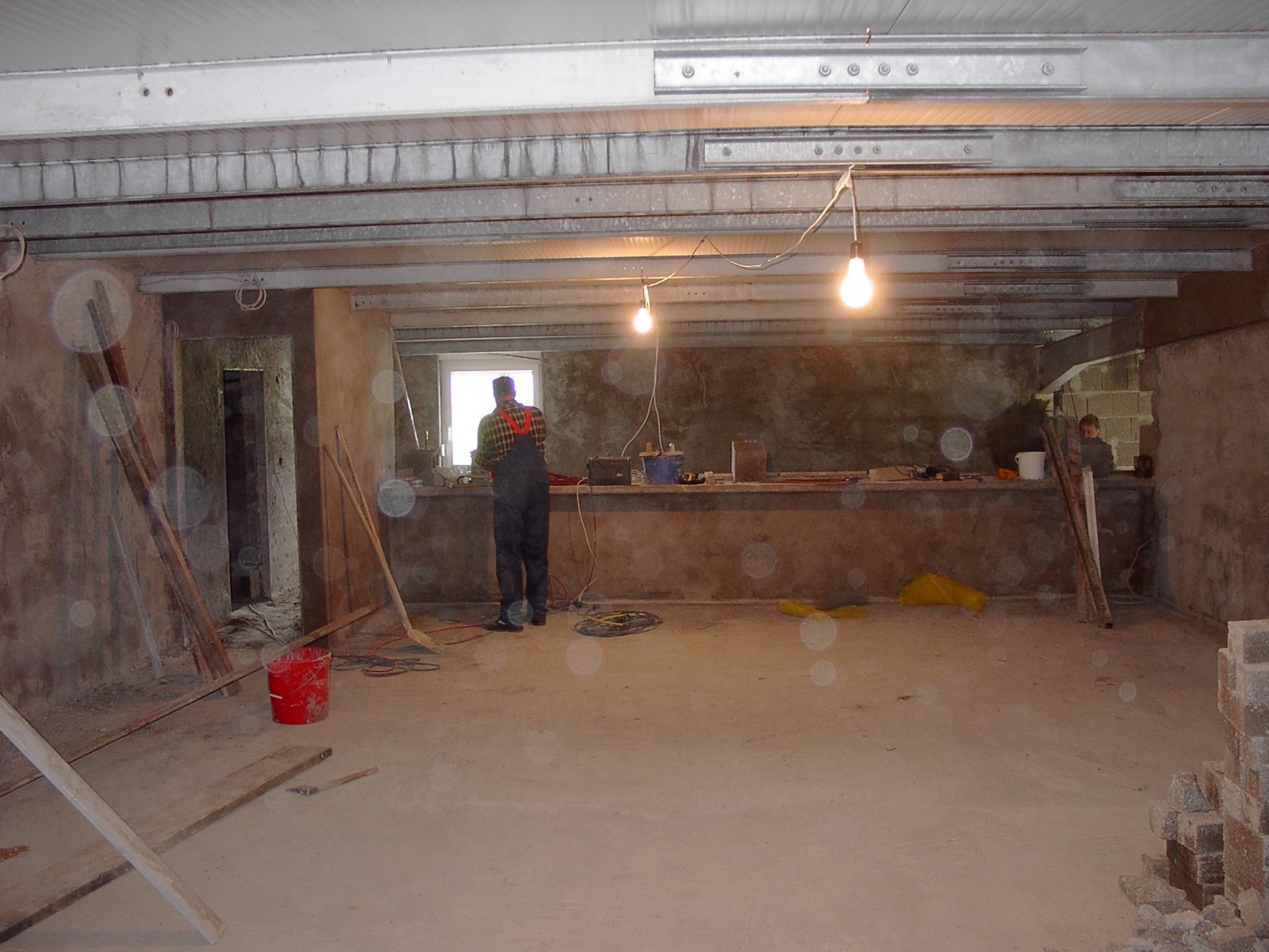 Neubau des Vereinsheimes - 252