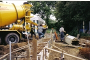 Neubau des Vereinsheimes - 005